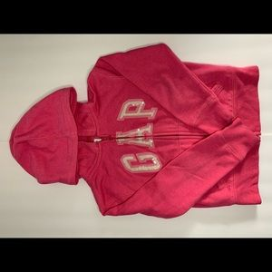 Girls Sequin Gap Hoody
